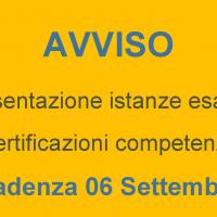 Corsi pre accademici  Presentazione Istanze esami certificazioni competenze