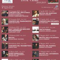 Stagione Concertistica 2018-2019