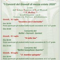 """Musica nell'Atrio """" I concerti del Giovedì di mezza estate"""""""