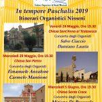 In tempore Paschalis 2019 – Itinerari Organistici Nisseni