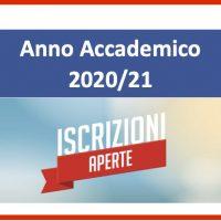 Corsi pre accademici – Aperte le iscrizioni per l'a. a. 2020/21 Scadenza 10 Settembre p.v.