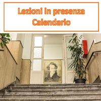 Triennio Accademico – Calendario Lezione Teorie e tecniche dell'armonia