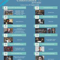 Stagione Concertistica 2019 – 2020