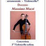 """Anno Accademico 2019/20 Corso Annuale in """"Interpretazione del repertorio strumentale – Violoncello"""""""