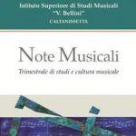 Note Musicali - Trimestrale di studi e cultura musicale
