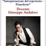 """Anno Accademico 2019/20 Corso Annuale in """"Interpretazione del repertorio pianistico"""""""