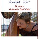 """Anno Accademico 2019/20 Corso Annuale in """"Interpretazione del repertorio strumentale – Arpa"""""""