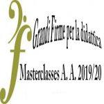 Masterclasses – Anno accademico 2019-2020