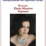 """Anno Accademico 2019/20 Corso Annuale in """"Interpretazione del repertorio vocale"""""""